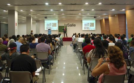 La Salle-URL acoge a estudiantes del Bachillerato Internacional |  Universitat Ramon Llull